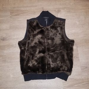 The Limited Jackets & Coats - The Limited Faux Fur Vest